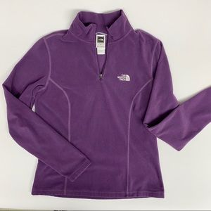 The North Face Purple Pullover, Size S